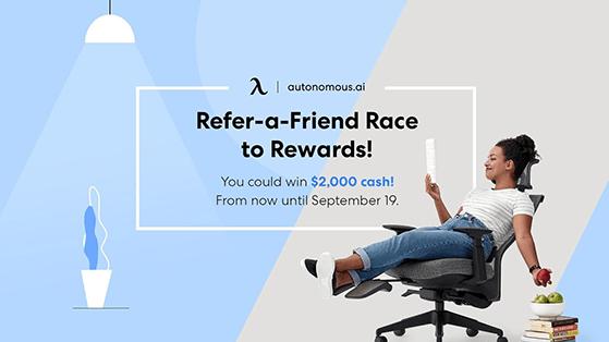 Autonomous refer a friend contest