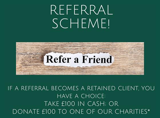 Community referral marketing program