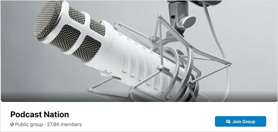 Cross promote your podcast on multiple social media platforms