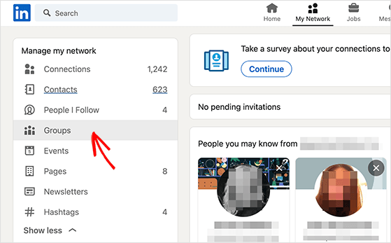 how to promote a blog on linkedin with LinkedIn groups